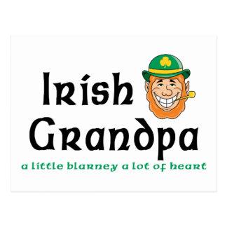 Regalo irlandés del abuelo postal
