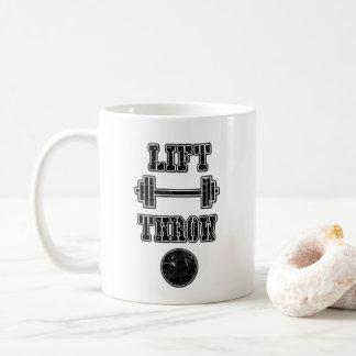 Regalo lanzamiento de peso de la taza de café del