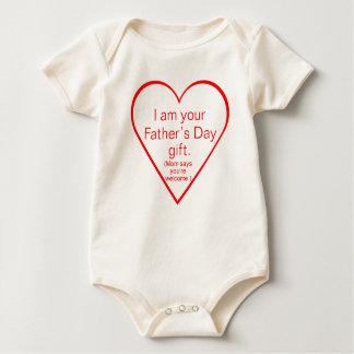 Regalo lindo del día de padre - bebé body para bebé