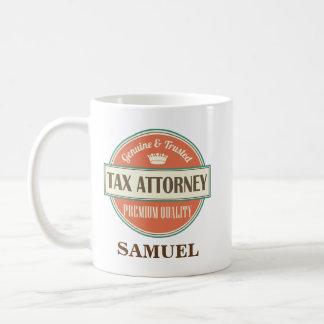 Regalo personalizado abogado de la taza de la