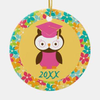 Regalo preescolar del personalizado de la graduaci ornamentos de navidad
