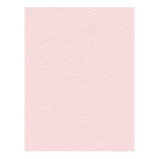 Regalo rosáceo del special del modelo rayado postal