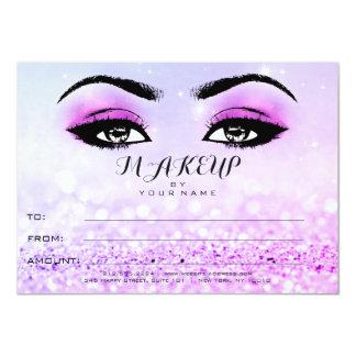 Regalo rosado brillante del certificado del invitación 11,4 x 15,8 cm