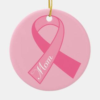 Regalo rosado del ornamento del cáncer de pecho de