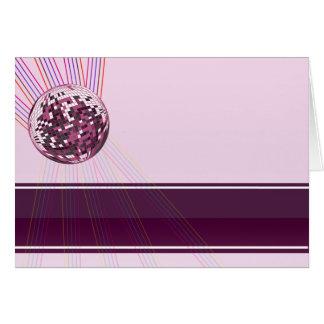 Regalo rosado hermoso de la tarjeta del día de San