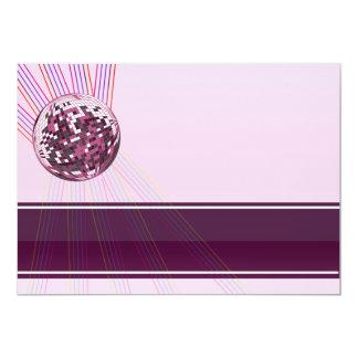Regalo rosado hermoso de la tarjeta del día de San Invitación 12,7 X 17,8 Cm