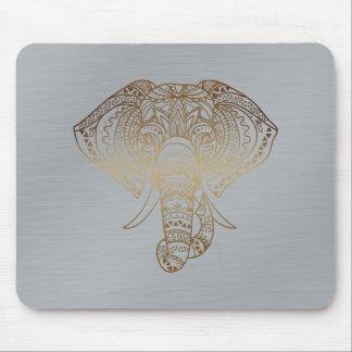 Regalo tribal de la oficina del elefante de la alfombrilla de ratón