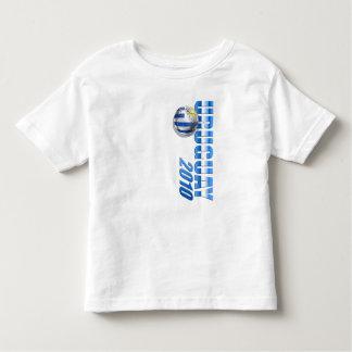 Regalos 2010 de Futbol Celeste del fútbol del Camiseta De Bebé