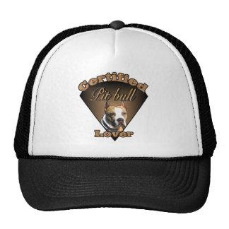 Regalos americanos de Terrier de pitbull Gorro De Camionero