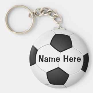 Regalos baratos personalizados del fútbol para llaveros personalizados