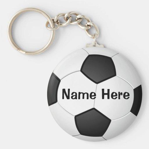 'Regalos baratos personalizados del fútbol para Llaveros Personalizados