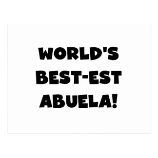 Regalos blancos y negros del Mejor-est Abuela del Postal