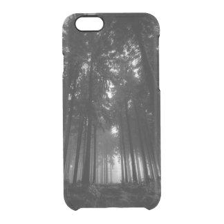 Regalos blancos y negros frescos del silencio de funda clearly™ deflector para iPhone 6 de uncommon
