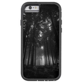Regalos blancos y negros frescos del silencio de funda para  iPhone 6 tough xtreme