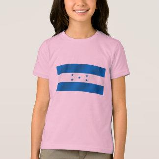 Regalos brillantes azules claros de la bandera de camiseta