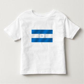 Regalos brillantes azules claros de la bandera de camiseta de niño