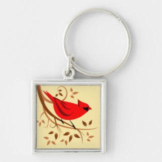 Regalos cardinales rojos decorativos llavero