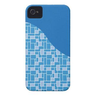 Regalos coloridos azules frescos del modelo de iPhone 4 Case-Mate cárcasas