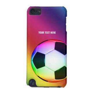 Regalos coloridos de la diversión del fútbol el | carcasa para iPod touch 5G