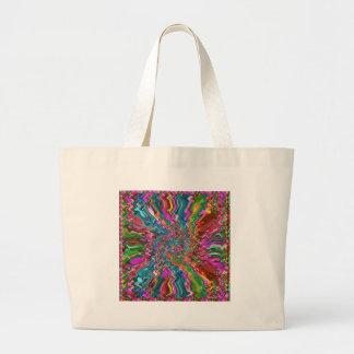 Regalos coloridos de la impresión de la parte bolsas de mano