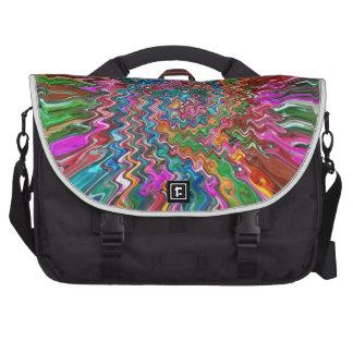 Regalos coloridos de la impresión de la parte bolsas para portátil
