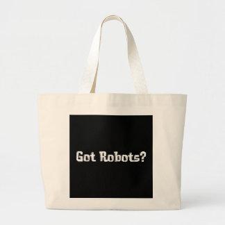 Regalos conseguidos de los robots bolsas