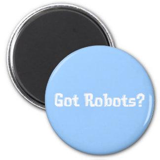 Regalos conseguidos de los robots imán redondo 5 cm