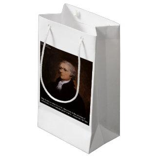 Regalos de Alexander Hamilton Bolsa De Regalo Pequeña