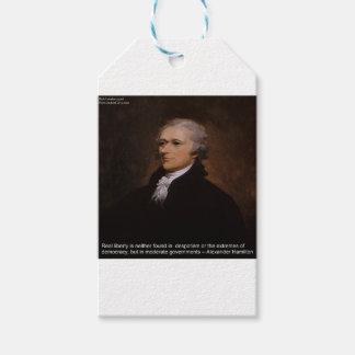 Regalos de Alexander Hamilton Etiquetas Para Regalos