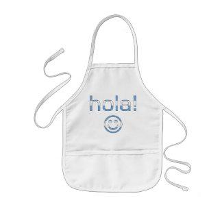 Regalos de Argentina: Hola/Hola + Cara sonriente Delantal
