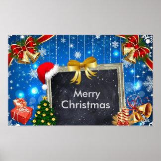 Regalos de Belces de navidad y poster de la Póster