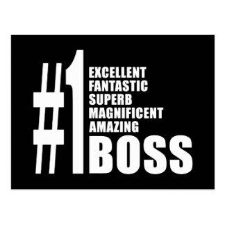Regalos de cumpleaños de los jefes Número uno Bos