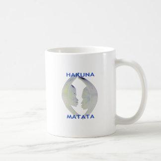 Regalos de Hakuna Matata excepto que fecha Taza Clásica