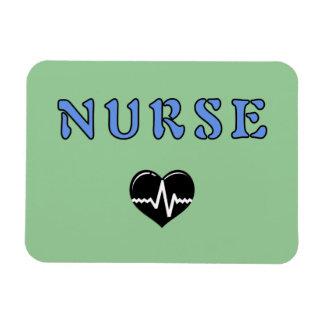 Regalos de la enfermera imán foto rectangular