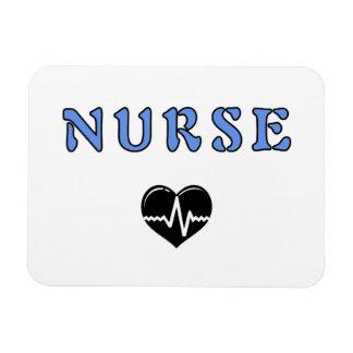 Regalos de la enfermera imanes de vinilo