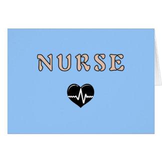 Regalos de la enfermera tarjeta pequeña