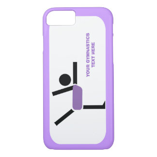 Regalos de la gimnasia, personalizado del funda iPhone 7