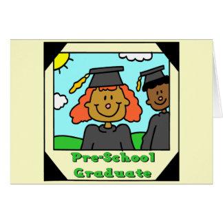 Regalos de la graduación del preescolar felicitaciones