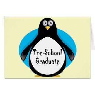 Regalos de la graduación del preescolar tarjeton