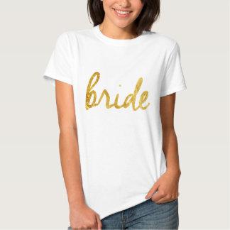 Regalos de la novia camiseta