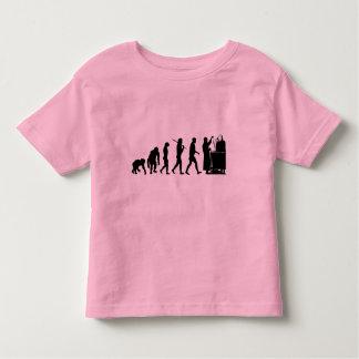 Regalos de la química de los investigadores de la camiseta de niño