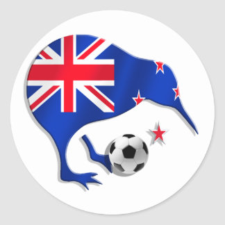 Regalos de la taza del equipo de fútbol del etiquetas redondas