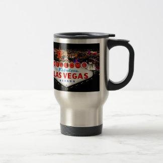 Regalos de Las Vegas Taza De Viaje