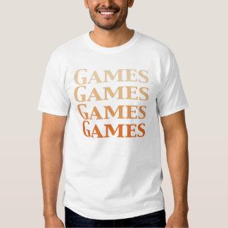 Regalos de los juegos de los juegos de los juegos camisetas