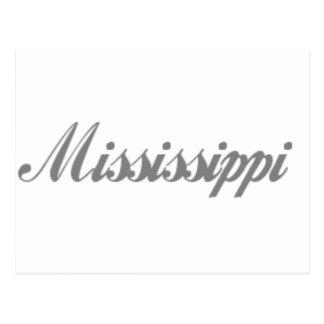 regalos de Mississippi Tarjetas Postales