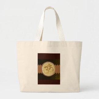 Regalos de oro elegantes 99 de los saludos del bolsa tela grande