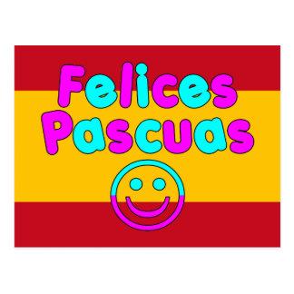 Regalos de Pascua para los altavoces españoles Postal