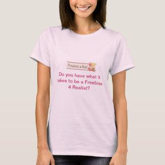 Regalos de promoción 4 reales camiseta