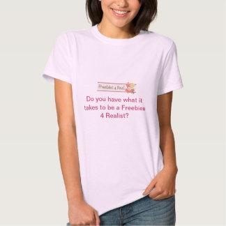 Regalos de promoción 4 reales camisetas