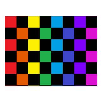 Regalos del arco iris del orgullo gay - tablero de tarjeta postal